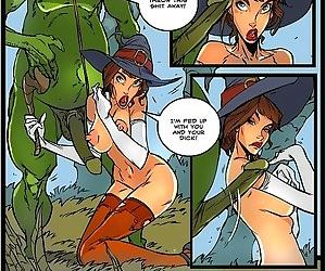 Evil stud fucks a young witch - part 3531