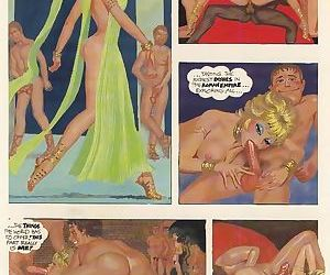 Raunchy porn comix with group fuck - part 628