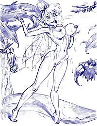 Tinkerbelle porn cartoons - part 486