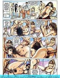 Girls sharing cock in the hottest sex comics - part 3053