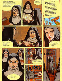 Some nuns seem to harbor secret lusts for each other - part 746