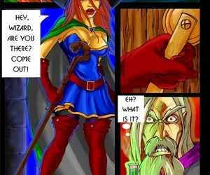 The king of frost fucks hot witch - part 135