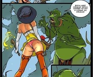 Sorceresss twat offered to ogre - part 3488