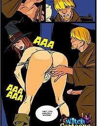 Stacked witch giving sloppy blowjob - part 2089