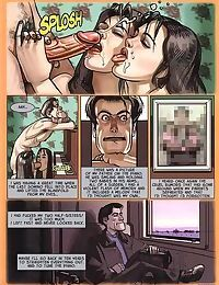Girl sharing cock in the hottest sex comics - part 1542