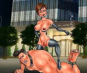 Unlucky toon dom gets trampled by slavegirl - part 2893