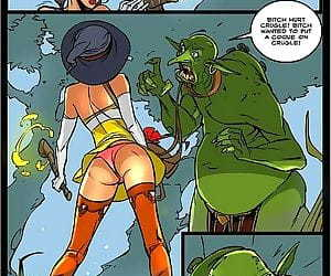 Sorceresss twat offered to ogre - part 513