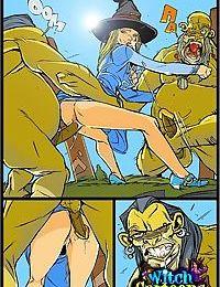 Sorceresss twat offered to ogre - part 513