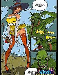 Sorceresss twat offered to ogre - part 1319