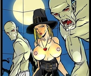 Ghouls make witch eat cum - part 1066