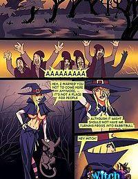 Slutty witch gets an assful - part 2239