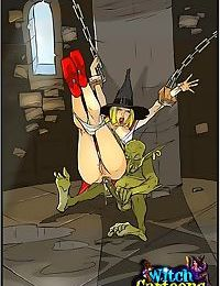 Witch does the all-holey - part 3851