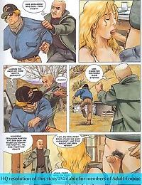 Porn comics with brutal oral and assfuck scenes - part 2949