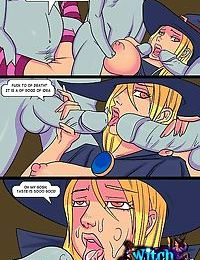 Vaginal interrogation of a witch - part 506