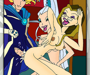The winx witches have all the cock, no wonder the winx girls are always into les - part 1275