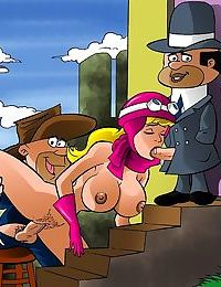 The sex perils of penelope pitstop - part 1689