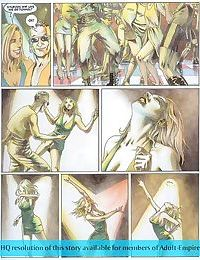 Drawn dude chases the girl and fucks her hard - part 2304