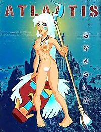 Atlantis porn cartoons - part 434