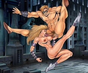 Hot fucking action by sexy cartoon characters - part 47