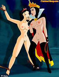 The sadistic queen is decided to convert snow white into her sex slave - part 1211