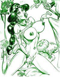 Alice porn cartoons - part 99