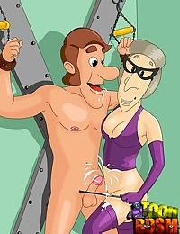 Jimmy neutrons relatives are real bdsm freaks - part 834