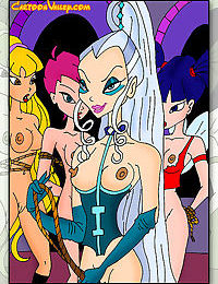 Winx babes get their pussies fucked by studs and witches - part 1315