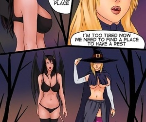 Lesbian adventures of super-sexy witches - part 2226