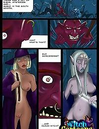 Witch in disguise gets shagged - part 2156