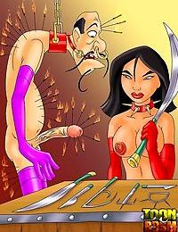 Hot bdsm cartoon characteres everywhere - part 35