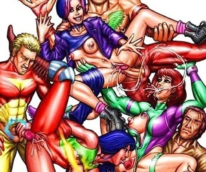 Superman porn cartoons - part 384