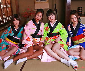 Asian orgy there young geishas - faithfulness 35