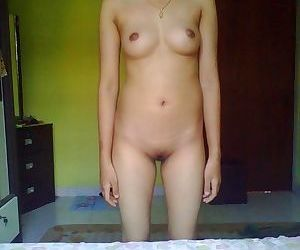 Unpredictable intensify asian chick posing naked with the addition of broadcasting situation - ornament 969