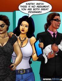 Savita Bhabhi -71 – Pussy on the Catwalk