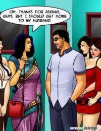 Savita Bhabhi -71 – Pussy on the Catwalk - part 7
