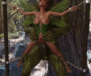Winged toon fucked