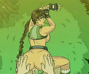 Tomb Raider deep anal creampie