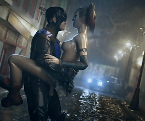 Harley and Nightwing