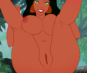 Jasmine animated anal - Kaa Edition