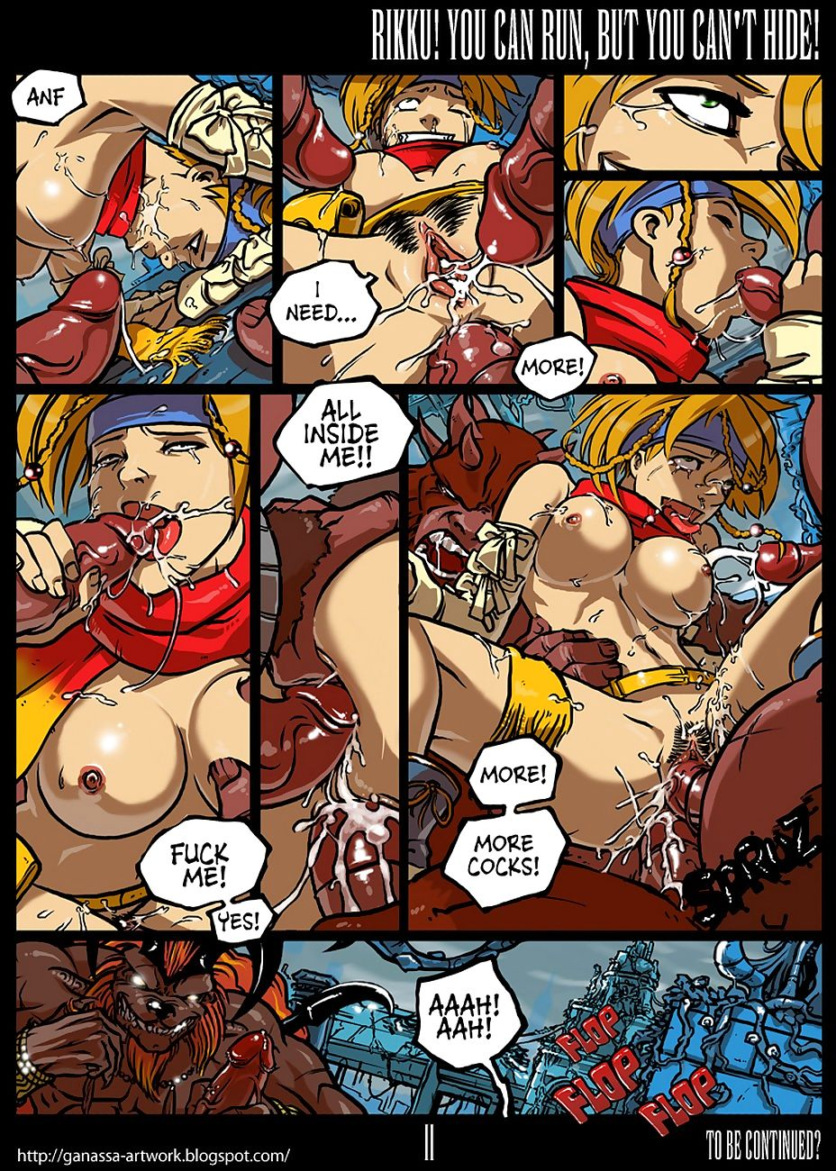 Rikku! You Buttocks Run, But You Cant Hide!…