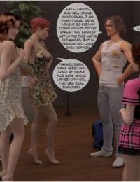 Wild Swinger Party- Incest3DChronicles