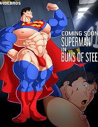 Superman in Buns of Steel