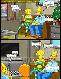 The Simpsons 10 - Christmas at the Retirement Home