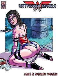 Distressed Damsels - Wonder Woman