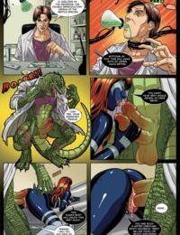 Spider-Man Sexual Symbiosis 1