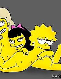 Lisa simpson lesbian orgies - part 15