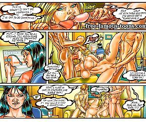 Two breasty girls orgy - part 15