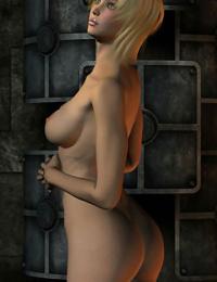 Blonde girl sex in dungeon - part 14