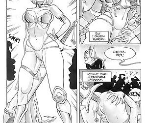 Hard sex with comic heroes - part 2