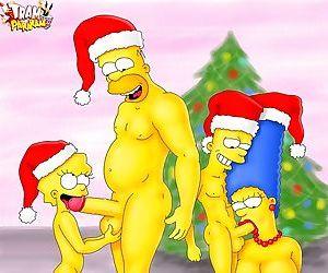 Wild winter orgies - busty cartoon sluts - part 12